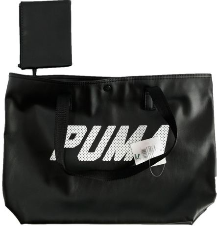 damska torba torebka worek PUMA eko skóra