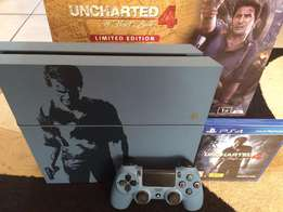 PS4 1TB Limited Edition - Includes Uncharted 4