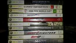 Xbox 360 Games at R70 each