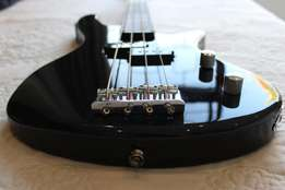 Sanchez 4 String Bass Guitar with built in Tuner Brand New Condition