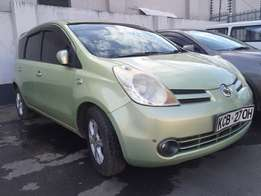 Nissan note KCB fully loaded