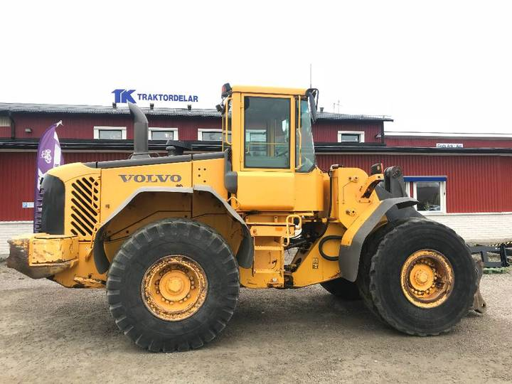 Volvo L110e Dismantled For Spare Parts