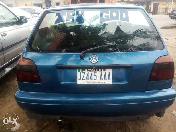 Sound fairly used golf 3 buy and drive Port-Harcourt - image 5