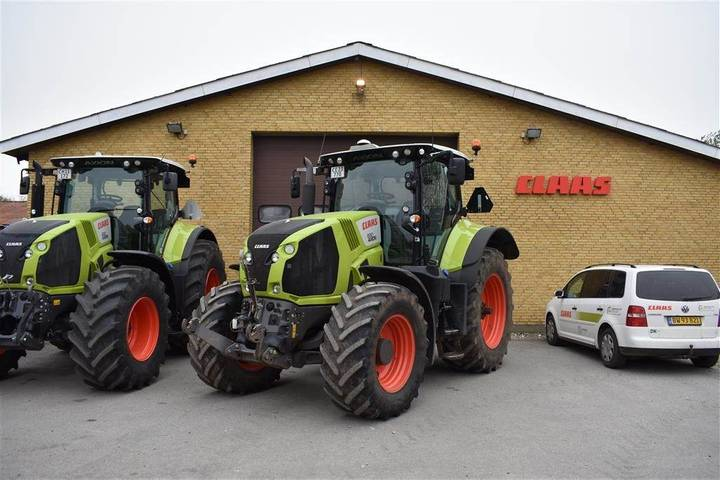 Claas Axion 830 - 2015