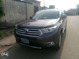 Neatly Registered Toyota Highlander