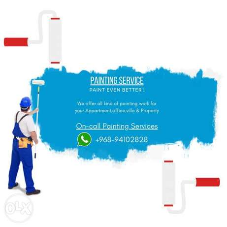 Professional Painting of Flats Villas Commercial Properties