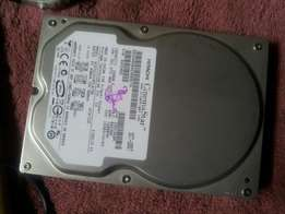 160gb ide hard disk with windows7 for sale