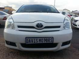 Here 2007 TOYOTA COROLLA VERSO 180TX AUTO, Good Condition