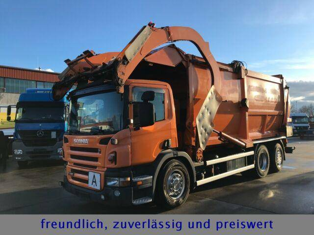 Scania *P 340*RETARDER*HÜFFERMANN FRONTLADER*LENK/LIFT* - 2008