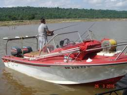 16ft wahoo boat 2x60HP Mariner and lots extras