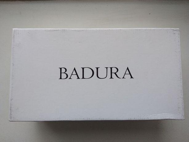 Туфли мокасины синие с кистями Badura (Бадура 08511cf64249f