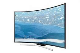 Brand new LG 60 inch LED Android smart curved 4k 2 years warranty