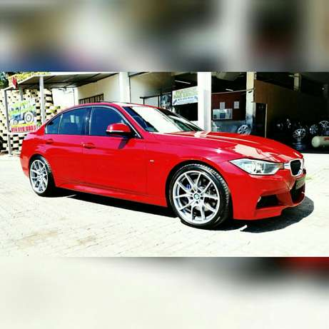"""19"""" BMW 6 Series rep Mags with Tyres Rustenburg - image 1"""
