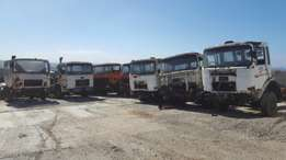 Mercedes 1928 & MAN 19.280 trucks for parts