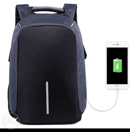 Anti Theft backpack, شنطه ظهر ممتازه Dhahran - image 4