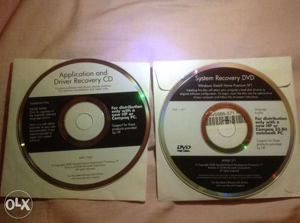 hp dv5 system recovery 2 dvd