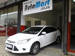 2011 Ford Focus 2.0 Sedan, Full Service History