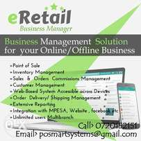 eRetail Business Manager/Point of Sale Software