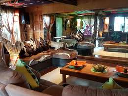 Exclusive Catalina Log Cabin EASTER & Youthday weekend, South Coast KZ