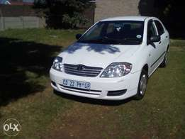 Toyota corolla 1.4 for sale