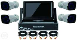 AHD complete camera kit with screen