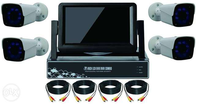 AHD complete camera kit with screen Benin City - image 1