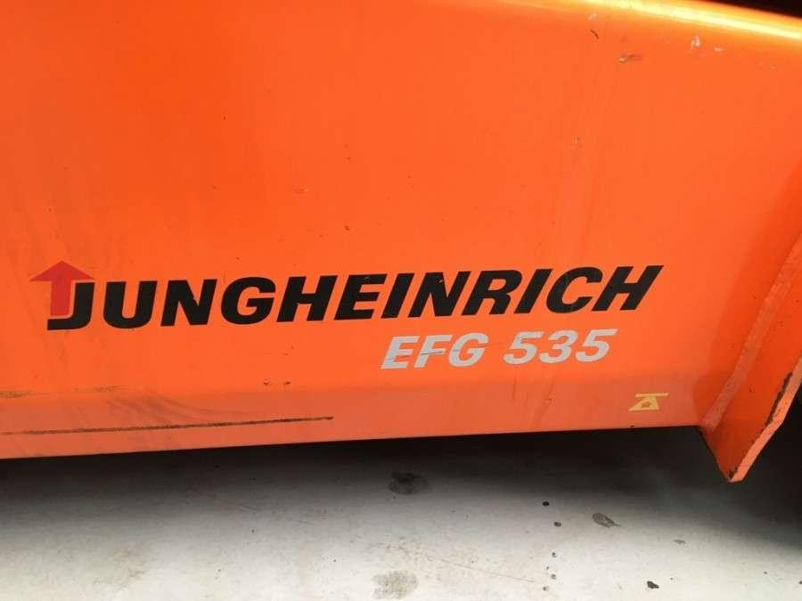 Jungheinrich EFG 535 - 2007 - image 3