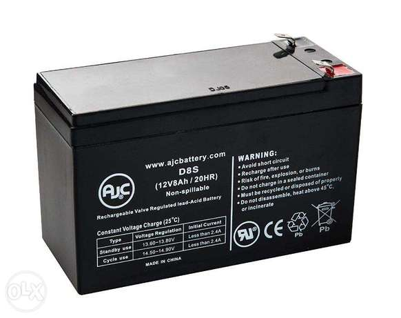 Ups battery with service