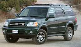 Toyota Seqouia alias Land Cruiser