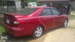 Supperclean Toyota Camry 2004model V6