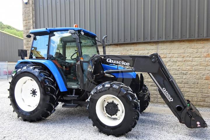 New Holland TL100 Tractor - 2003