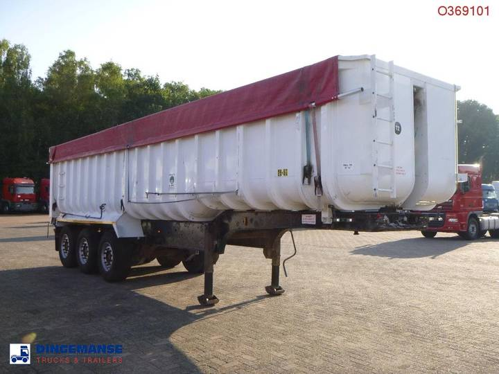 GENERAL TRAILER Tipper alu / steel 41 m3 + tarpaulin - 2002