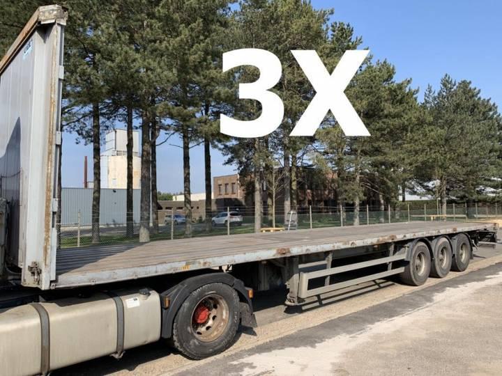 Trailor 3-ESS PLATEAU - SMB - BON ÉTAT - GOOD CONDITION - 3 PIECES - 2001