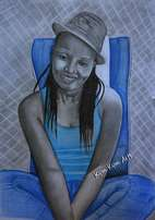 Get a high quality art work of you A4 size 2400 kshs only A3 size 3900
