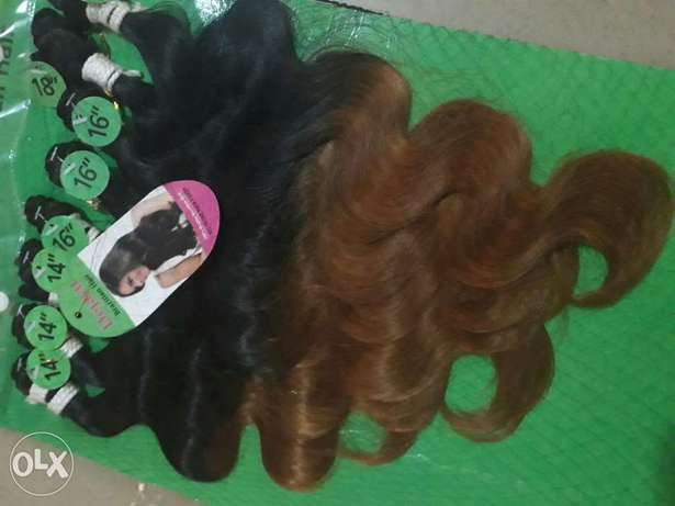 Beautiful ombre...wavy and silky. Keffi - image 1