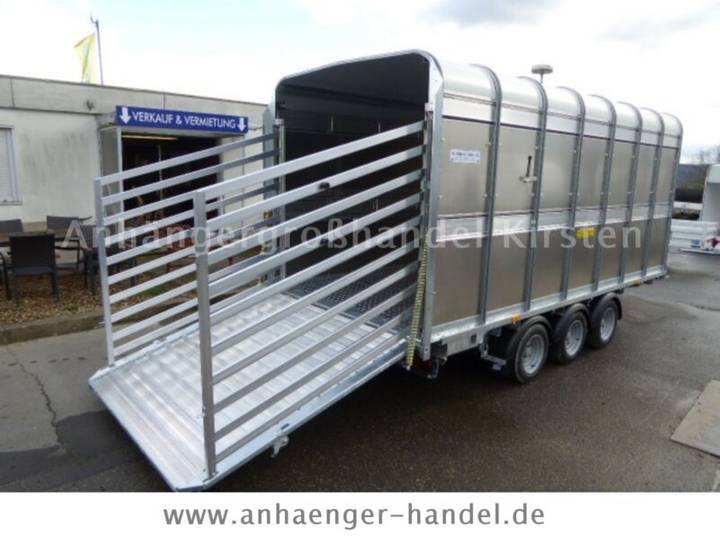 Ifor Williams DP 120 Tri-Axle, 434x189x182cm VORRAT - 2019
