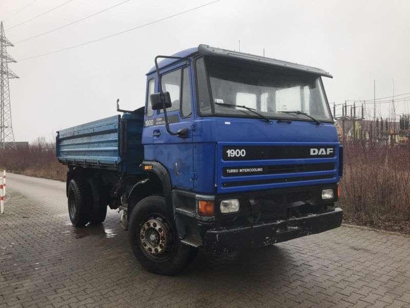 DAF 1900 Turbo, Blatt / Blatt, Schaltgetriebe - 1993 - image 6
