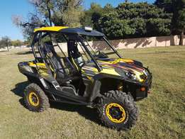 2012 Can-Am commander 1000 xt 5000km auto R164950