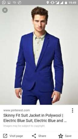 Royal blue wedding and official men suits. FREE DELIVERY. Nairobi CBD - image 3