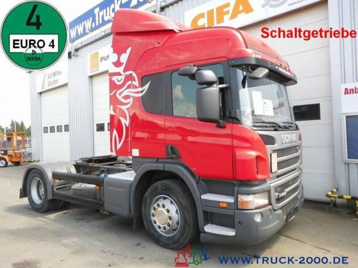 Scania P 340 Schaltgetriebe *Klima* Standheizung* Euro4 - 2011