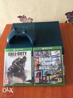 Xbox One S 500GB With 2 Game Call Of Duty & Grand Theft V.
