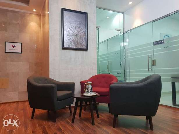 Fully furnished offices - Ocean Business Centre الخوير -  6