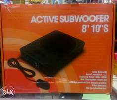 Powered active underseat subwoofer, Free delivery within Nairobi cbd.