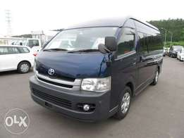 TOYOTA / HIACE COMMUTER Chassis # KDH223-544 year 2010