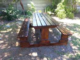 Picnic Benches from R900 in Cape Town