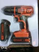 20v Cordless Drill with extra battery pack