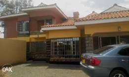 This is a 5 bedroom maisonette for sale in Ongata Rongai.