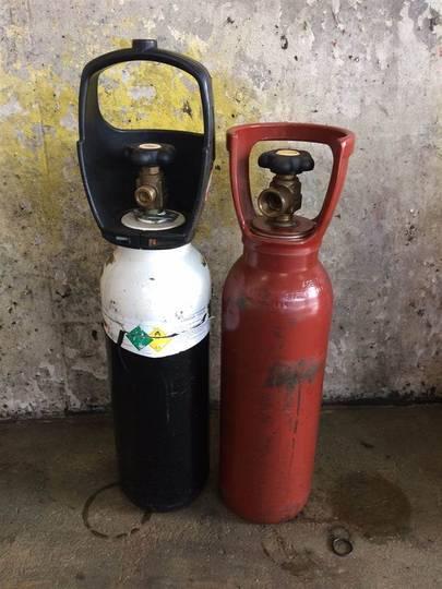Gas Og Ilt Flasker