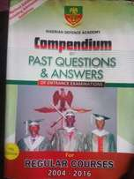 Nigeruan Defence Academic Past Question And Answer