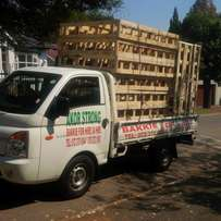 Bakkie for hire anywhere around gauteng short and long distance